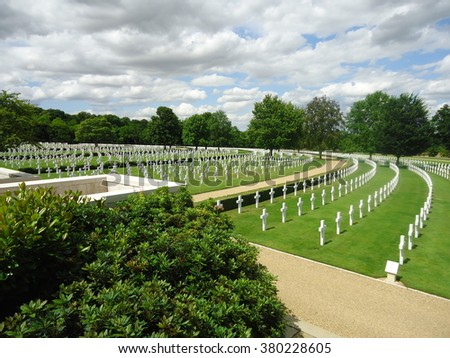 Cambridge American Cemetery and Memorial, Madingley