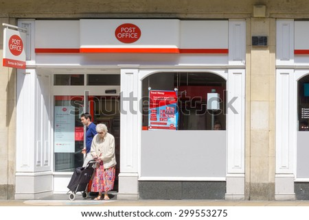 Post office stock images royalty free images vectors - Post office bureau de change buy back ...