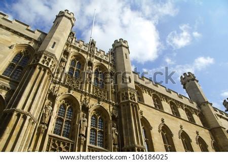 Cambridge University - stock photo