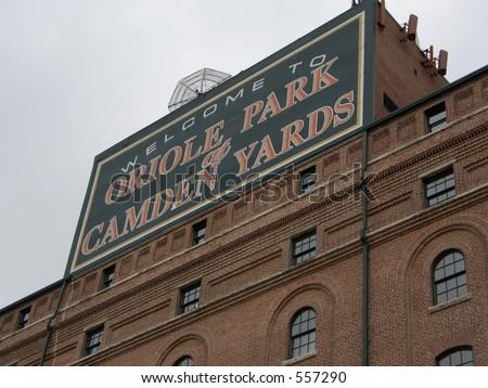 Camden Yards - stock photo