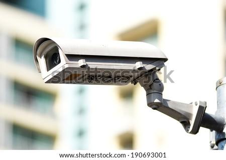 camera cctv - stock photo