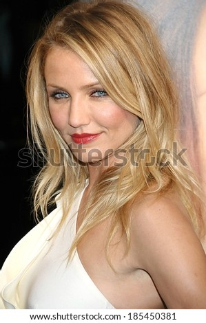 Cameron Diaz at MY SISTER'S KEEPER Premiere, AMC Loews Lincoln Square 13 Theatre, New York, NY June 24, 2009 - stock photo