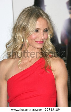 "Cameron Diaz  at ""The Green Hornet"" Los Angeles Premiere, Chinese Theater, Hollywood, CA. 01-10-11 - stock photo"