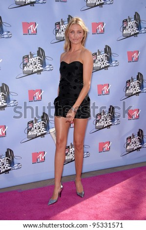 Cameron Diaz at the 2007 MTV Movie Awards at the Universal Amphitheatre. June 3, 2007 Los Angeles, CA Picture: Paul Smith / Featureflash - stock photo