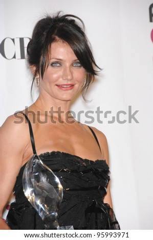 CAMERON DIAZ at the 33rd Annual People's Choice Awards at the Shrine Auditorium, Los Angeles. January 9, 2007 Los Angeles, CA Picture: Paul Smith / Featureflash - stock photo