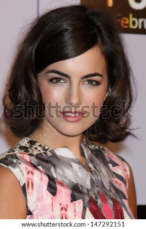 """Camilla Belle  arriving at the premiere of """"Push"""" at the Mann Village Theater in Westood, CA on  January 29, 2009 - stock photo"""