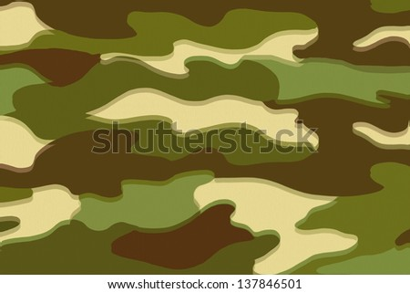 Camo altered states - stock photo