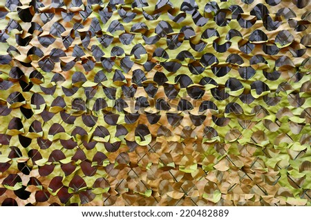 Camo Net texture - stock photo