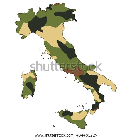 Camo texture in map - Italy