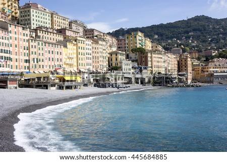 Camogli in Liguria, Italy - stock photo