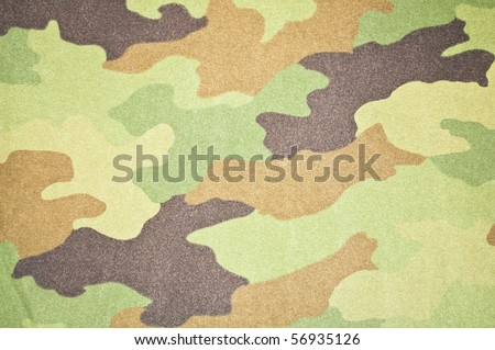 Camouflage Army colors - stock photo