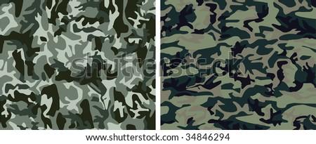 Camouflage pattern - stock photo
