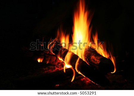 Camping fire