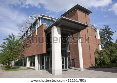 Campus of Princeton University - stock photo