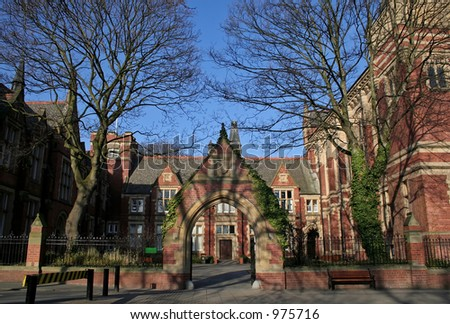 Campus of University of Leeds, UK
