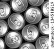can background , metal ring of can opened background, food and beverage background - stock photo