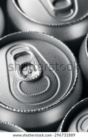 Can of soft drink  - stock photo