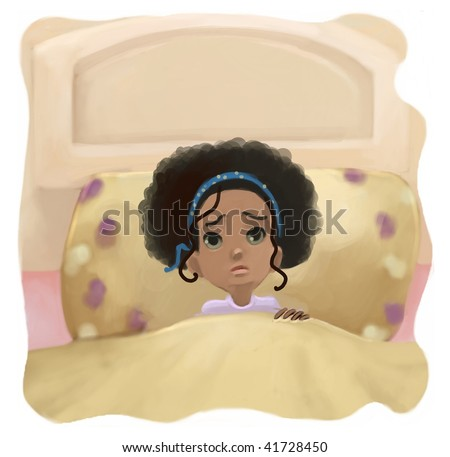 can't sleep  (search the word nikos for more) - stock photo