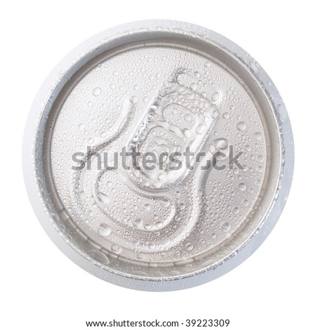 Can view above on white background (isolated). - stock photo