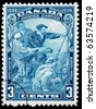 CANADA - CIRCA 1934: A postage stamp printed in Canada of Jacques Cartier, circa 1934 - stock photo