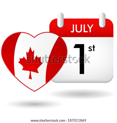 canada day - stock photo