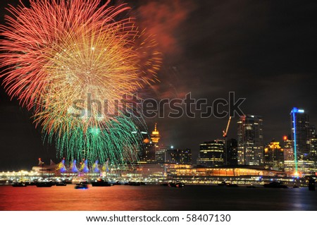 Canada Day Fireworks, Vancouver BC