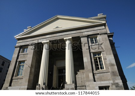 Canada, Quebec, Le March���© Bonsecours in Montreal - stock photo