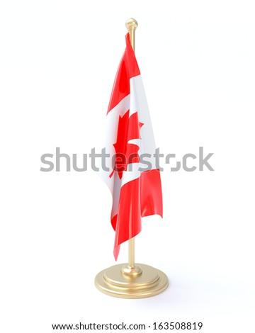 Canadian Flag - stock photo