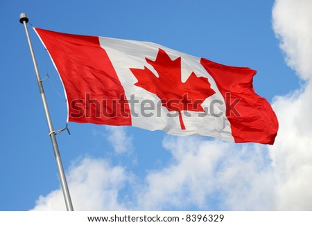 Canadian Flag Series - stock photo