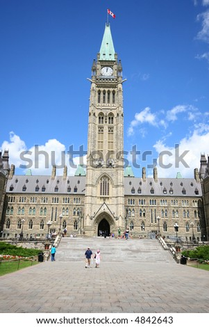 Canadian House of Parliament, Ottawa, Canada