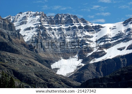 Canadian Rocky mountains - stock photo