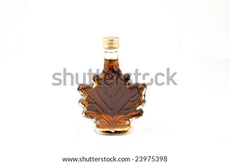 Canadian traditional maple syrup - stock photo