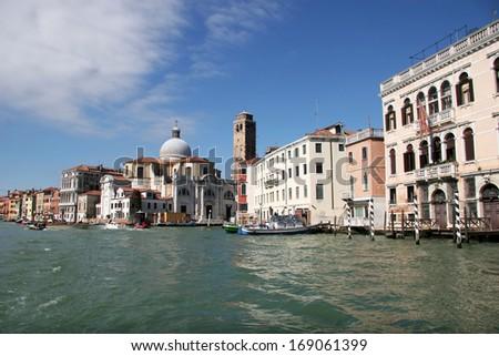 Canal Grande, Venice, Italy - stock photo