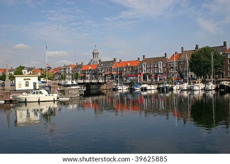 middelburg holland canal in airport