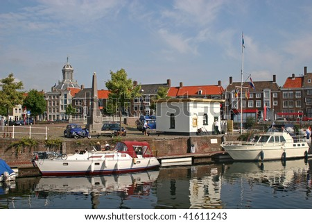 middelburg holland canal in accommodation