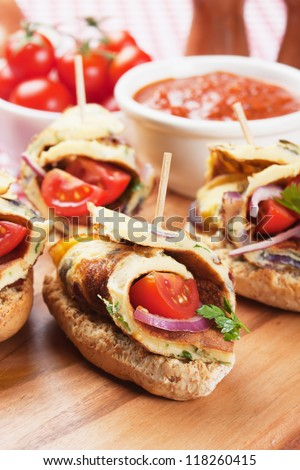 Stock images royalty free images vectors shutterstock for Canape sandwiches
