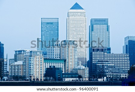 Canary Wharf, London, UK