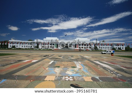 Canberra, Australia - Nov 17, 2007: Old Parliament House