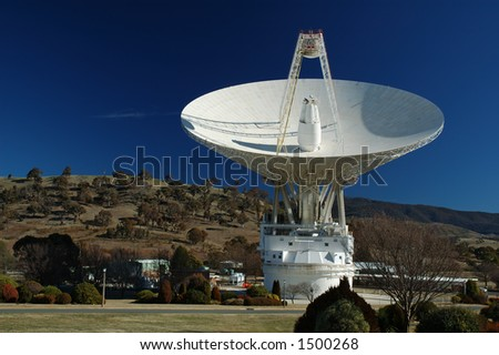 Canberra Deep Space Communication Complex, ACT, Australia - stock photo