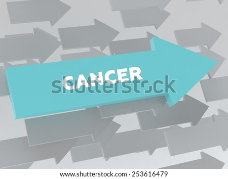CANCER - stock photo