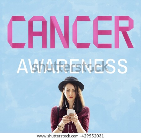 Cancer Awareness Female Issue Illness Concept