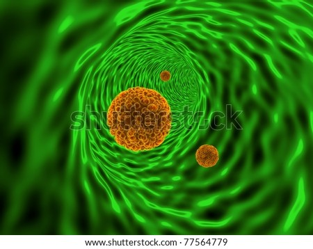 cancer cells - stock photo
