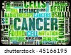 Cancer Medical Illness Disease as Concept Art - stock photo