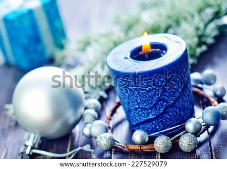 candle - stock photo