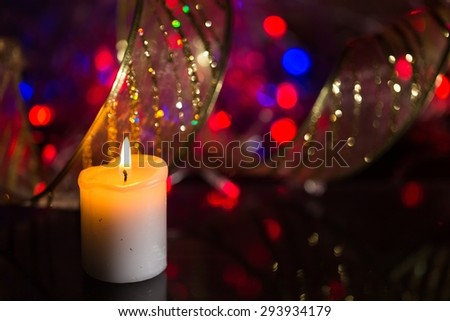 Candle, Christmas, Candlelight.