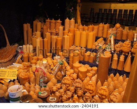 candle sell - stock photo