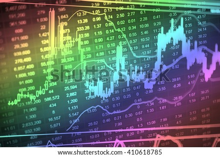 Candle stick graph chart of stock market investment trading, monotone color, Bullish point, Bearish point. trend of graph.