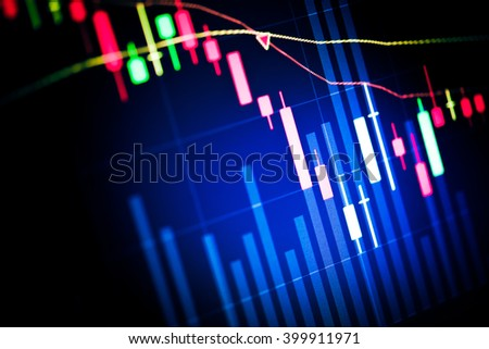 Candle stick graph chart of stock market investment trading. Trading&analysis of Forex graph, Forex trading, Forex market, Forex background, Forex education.