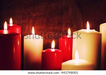candlelight set love