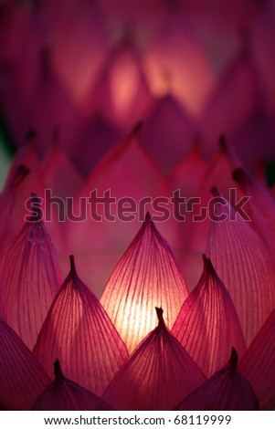 Candles with a soft background - stock photo